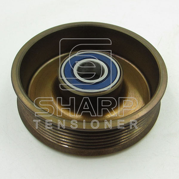 ford-1077689-1004475-96mf6a228ac-96mf6a228ad-tensioner-pulley-v-ribbed-belt