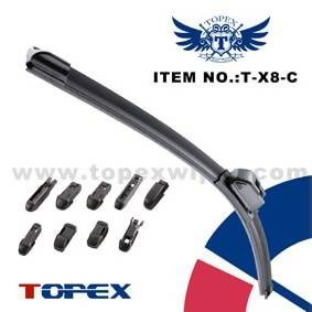 Multifunctional flat wiper blade