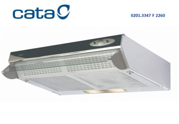 CATA F2260 Traditional Hood Inox 0201.3347
