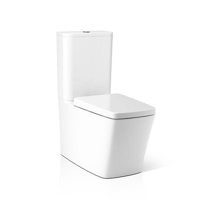 Axent Pure 2PC Watercloset w/ Seat & Cover W561-1031-M2