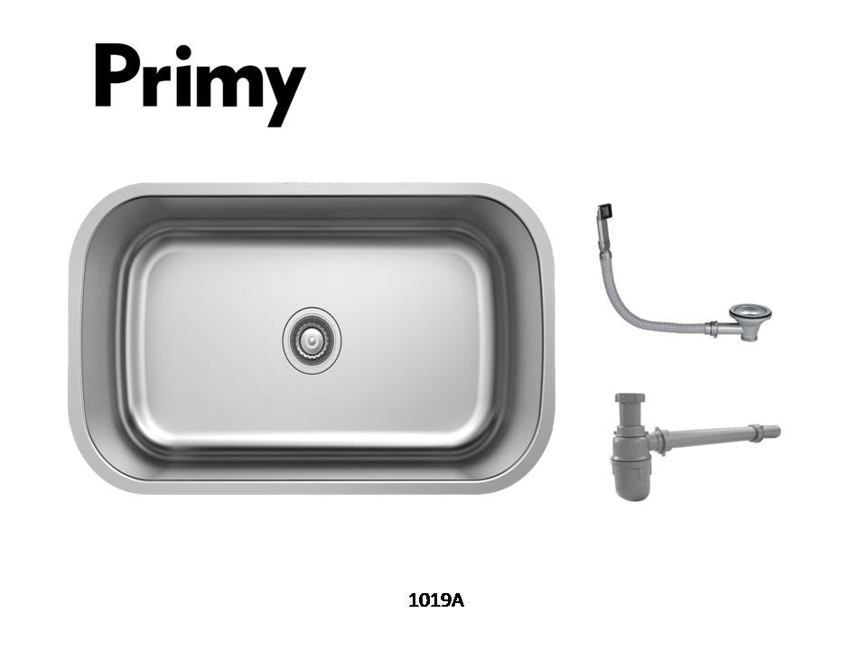 Primy Undermount 1Bowl w/ OF+A3A+Clips 1019A