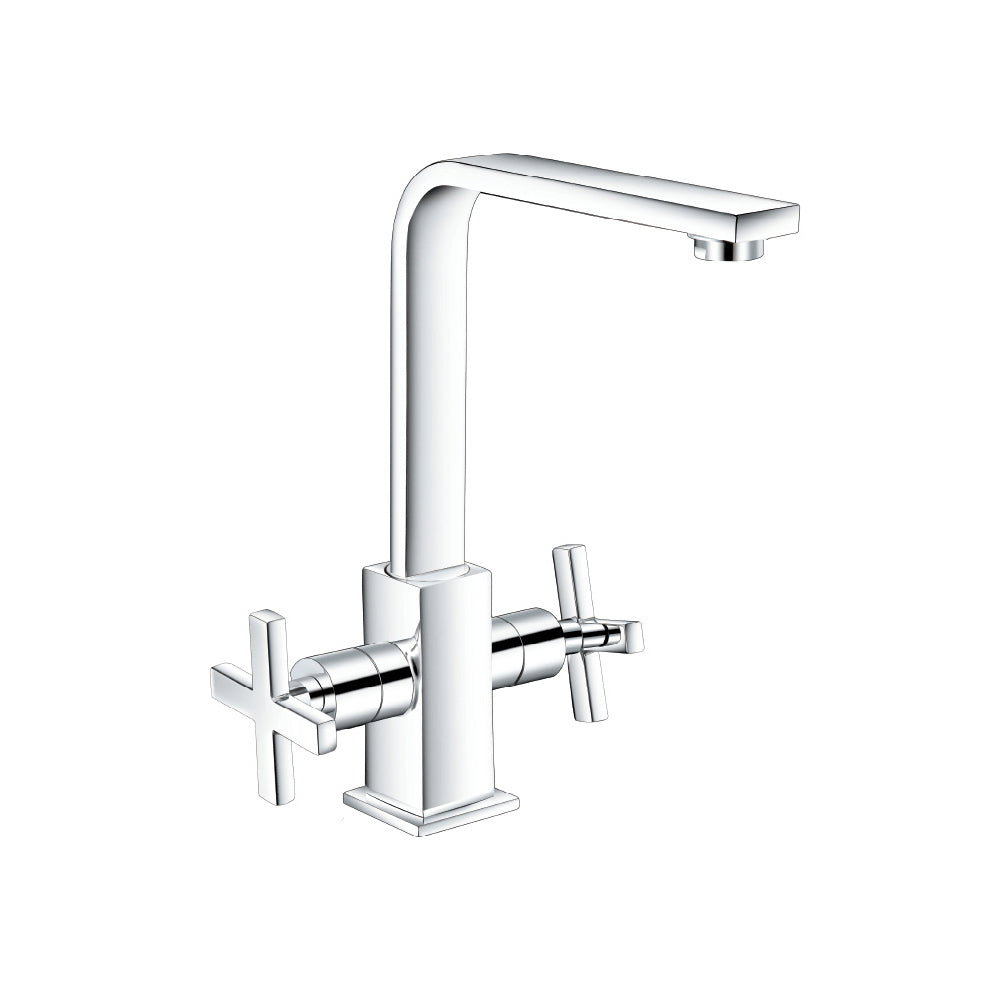 Linea CT Tail Basin Mixer Cross w/ Pop Up 4208ACR