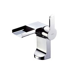 Load image into Gallery viewer, CAE Garda Basin Mixer Open Spout Push Pop Up 67.1805C