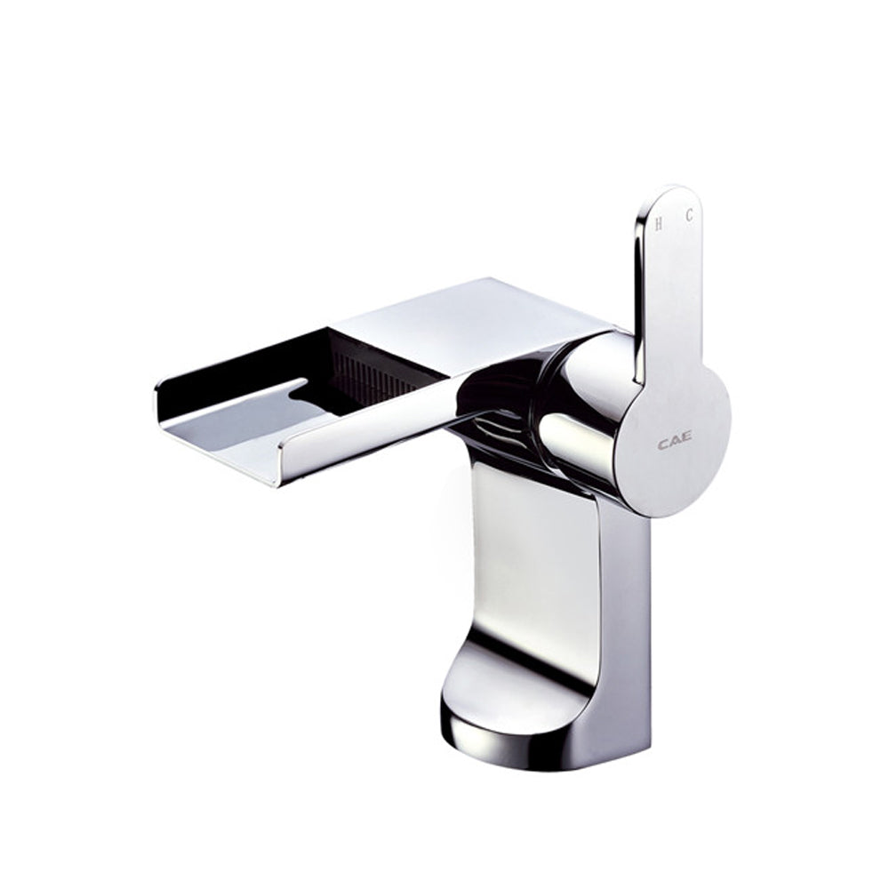 CAE Garda Basin Mixer Open Spout Push Pop Up 67.1805C
