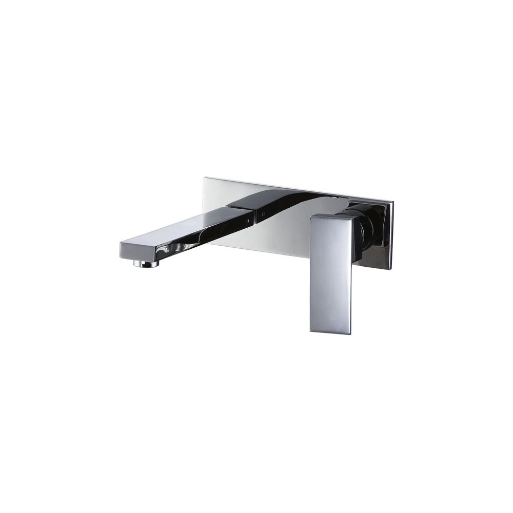 CAE Thames Wall Basin Mixer with Plate 75.1368C