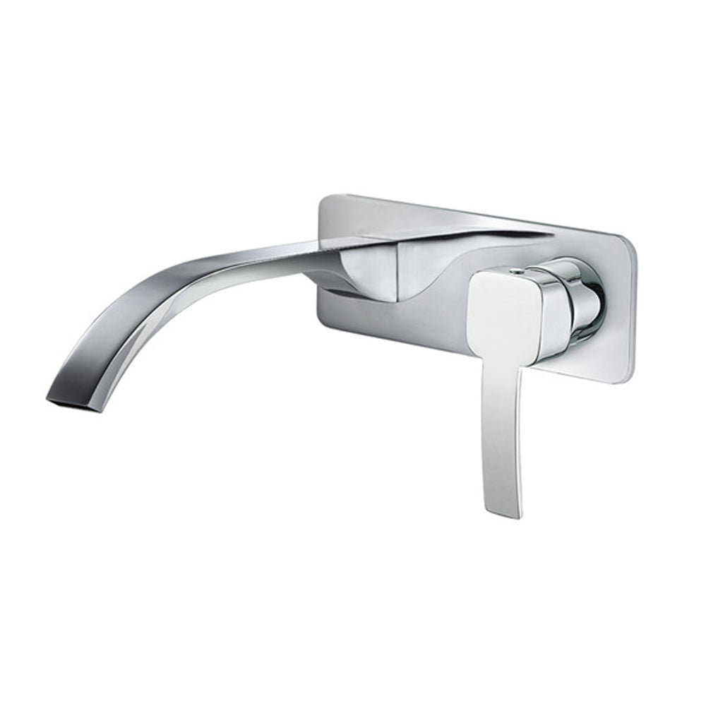 CAE Toldeo 2hole Wall Basin Mixer Push Pop Up 88.1748C