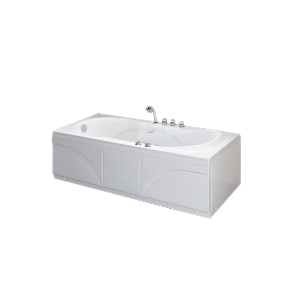 Eago Massage Tub 1700 x 720 x 600mm AM1700.8R
