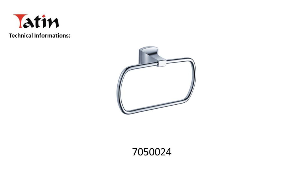 Yatin Pillar Towel Ring 7050024