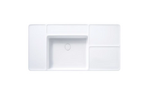 Load image into Gallery viewer, Cotto Patchwork Wall Hung Basin 120mm 1t/h C0456-1