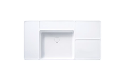 Cotto Patchwork Wall Hung Basin 120mm 1t/h C0456-1