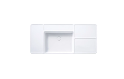 COTTO Patchwork Wall Hung Basin C0456-3