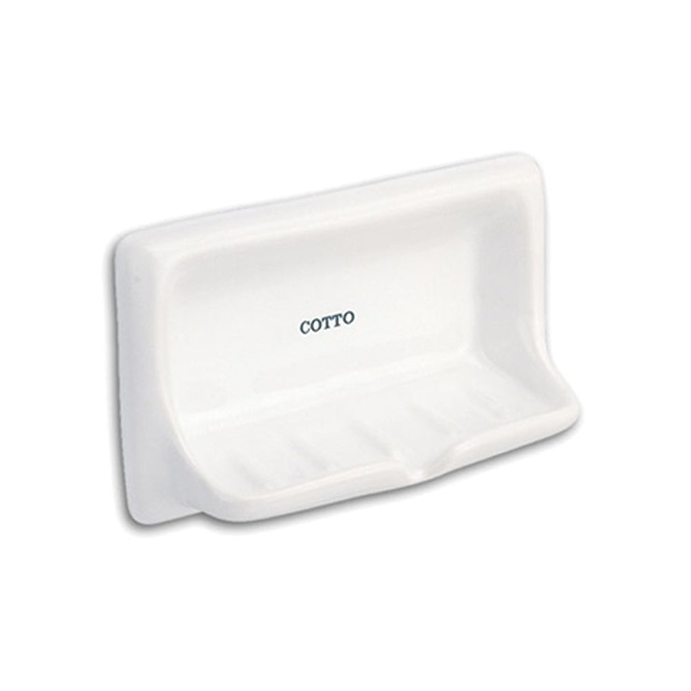COTTO Standard Soap Holder Recessed C805