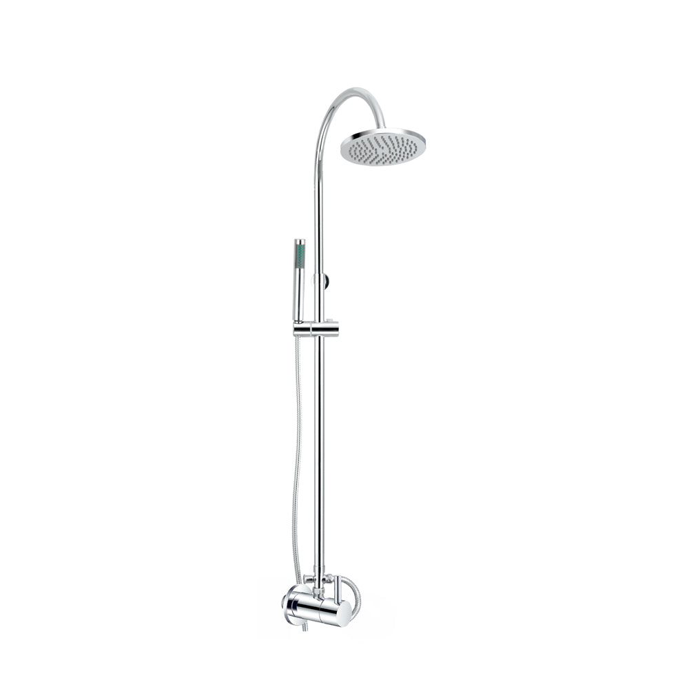 Linea CT Shower Pipe w/ Overhead & Handshower D255