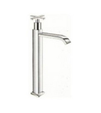 Load image into Gallery viewer, Linea CT Basin Pillar Tap 30cm Cross Handle D270