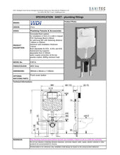 Load image into Gallery viewer, WDI Concealed Flush System K301A