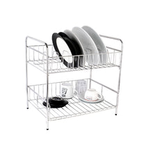 Load image into Gallery viewer, VRH 2-Tiered Dish Rack 410 x 300 x 410mm W106