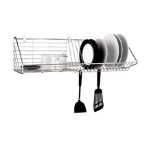 Load image into Gallery viewer, VRH Dish Rack with Hooks Wall Mount W106D1
