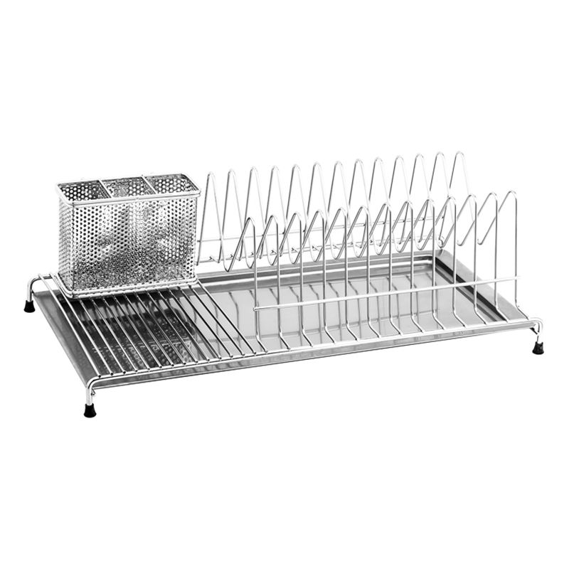 VRH Dish Rack with Utensil Holder & Tray W106O