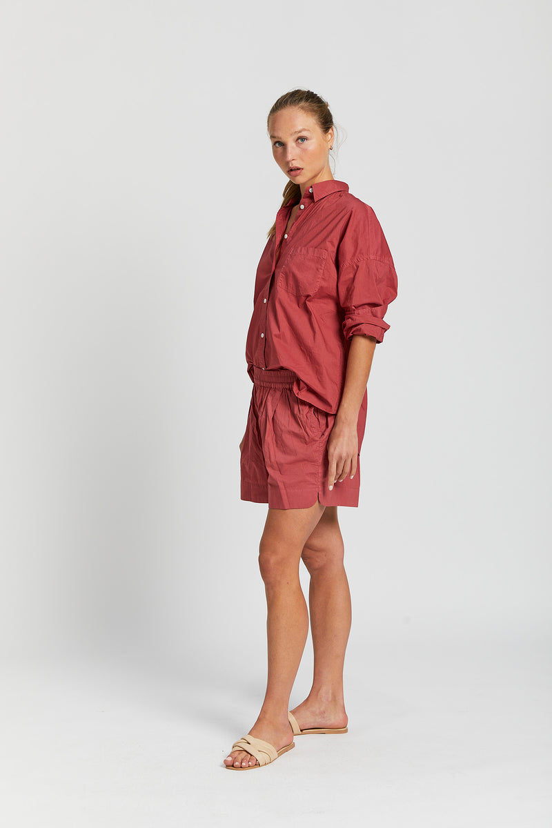 Chiara Shirt - Cherry