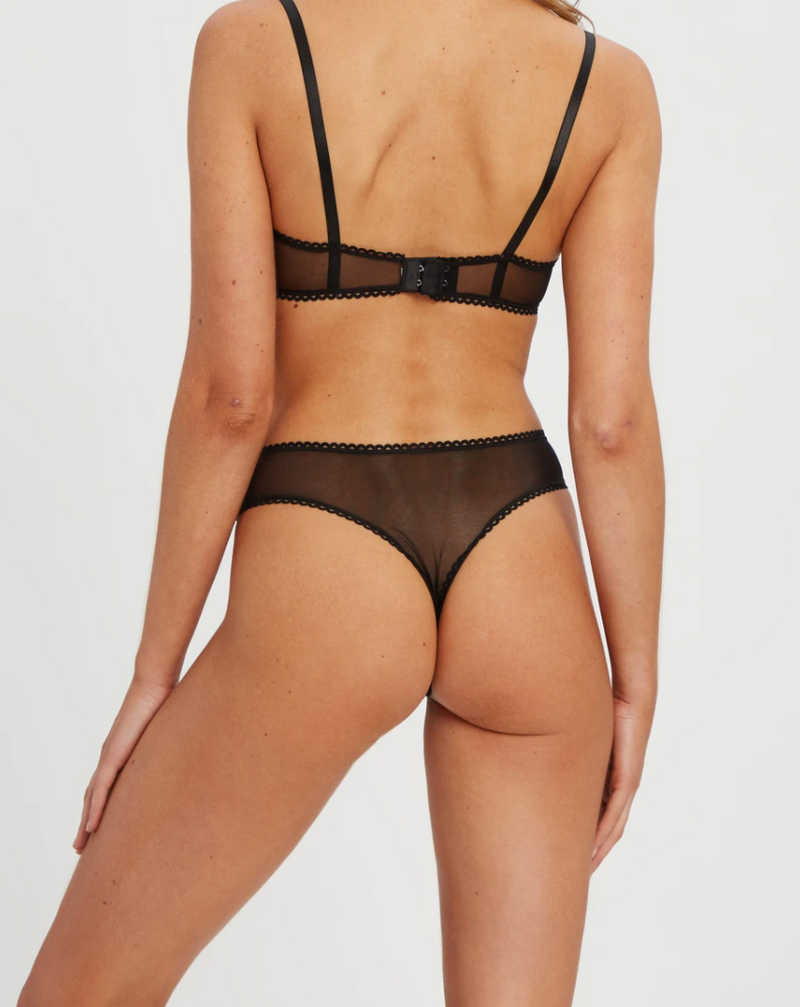 Saturday G-String - Black