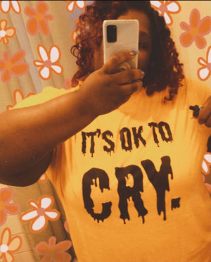 OK to Cry Tees
