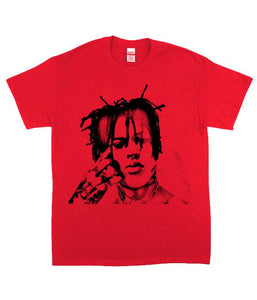 Poorstacy Pentagram T-Shirt (Red)
