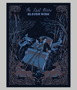 The Last Bison Sleigh Ride Poster