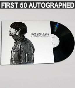 Cary Brothers - Under Control Vinyl