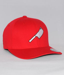 Chicago Butchers Union Cleaver Logo Flexfit Hat