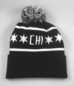 Chicago Hockey Initiative CHI Logo Knit Hat