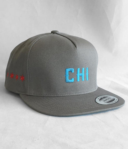 Chicago Hockey Initiative Limited Edition Chicago Flag Snapback Hat