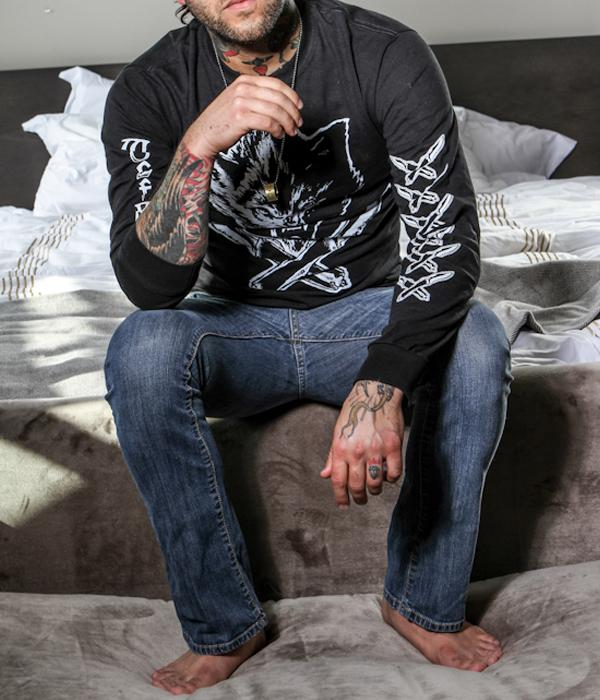 Jason Ellis Wolfknives Long Sleeve Shirt