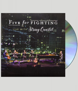 Five For Fighting - Live With String Quartet CD