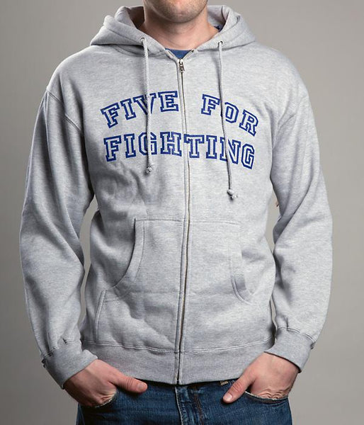 Five For Fighting Logo Zip Hooded Sweatshirt