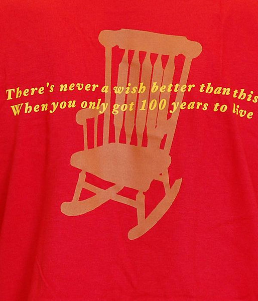 Five For Fighting Rocking Chair Shirt (Red)