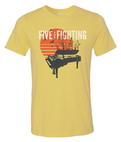 Five For Fighting Sunset Piano Shirt