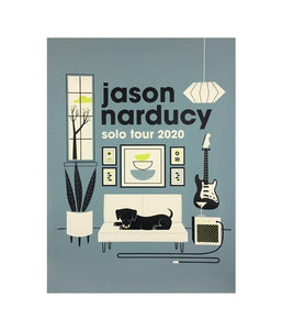 Jason Narducy Solo Tour 2020 Poster (Ltd Ed)