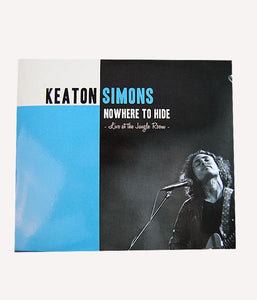 Keaton Simons - Nowhere To Hide (Live At The Jungle Room) CD