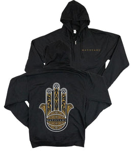 Matisyahu Hamsa Zip Hooded Sweatshirt