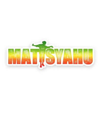 Matisyahu Gradient Logo Sticker