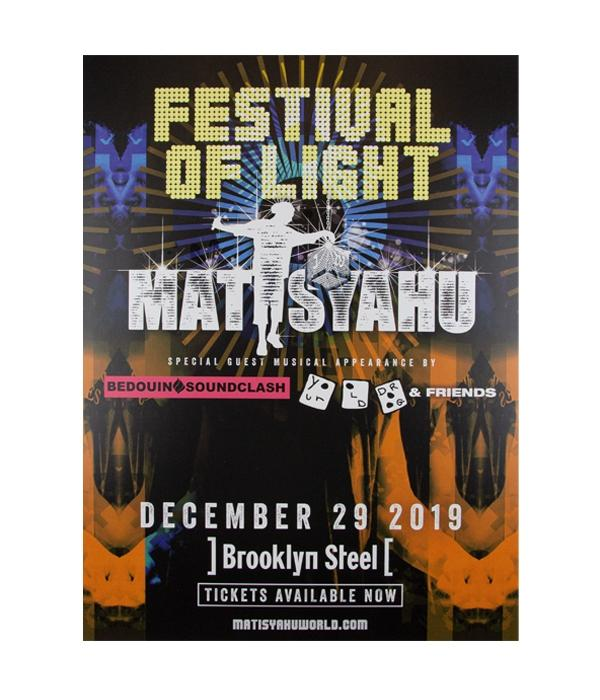 Matisyahu - Festival Of Light 2019 Poster