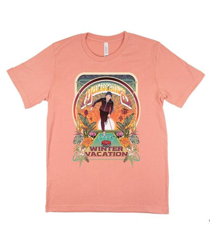 Matisyahu Winter Vacation Shirt (Lt Orange)