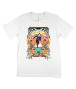 Matisyahu Winter Vacation Shirt (White)