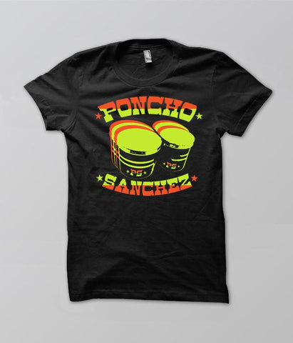 Poncho Sanchez Drum Womens Shirt
