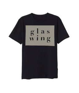 Glaswing Block Text Shirt (Black) **PREORDER - SHIPS 05/07