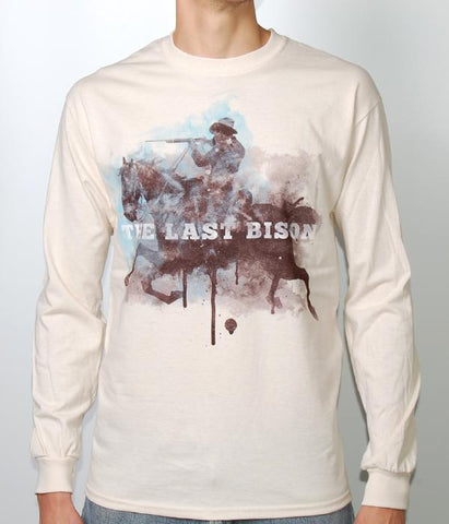 The Last Bison Horse Rider L/S Shirt