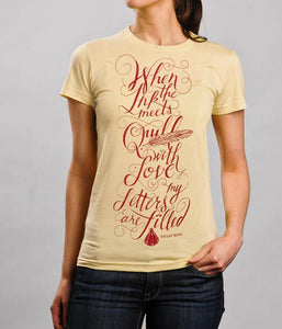 The Last Bison Lyrics Womens Shirt
