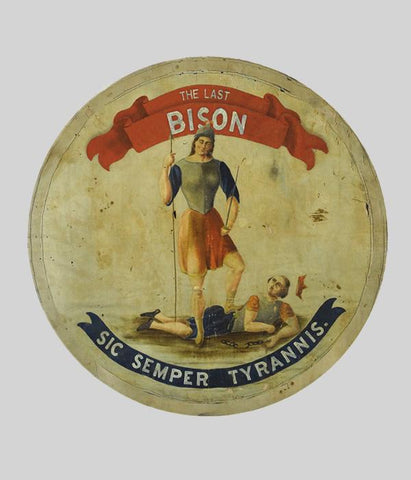 The Last Bison Seal Sticker