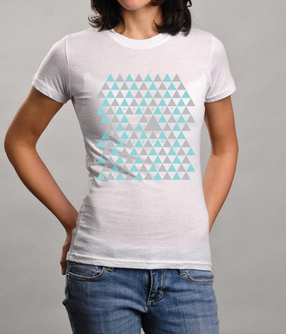 The Last Bison Triangles Womens Shirt