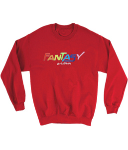 Whethan Fantasy Crewneck Sweatshirt (Red)